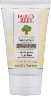 Burt's Bees Ultimate Care κρέμα για τα χέρια για πολύ ξηρό δέρμα