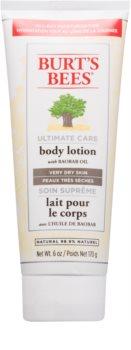 Burt's Bees Ultimate Care telové mlieko pre veľmi suchú pokožku