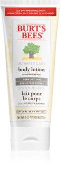 Burt's Bees Ultimate Care lait corporel pour peaux très sèches