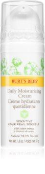 Burt's Bees Sensitive crème de jour hydratante peaux sensibles