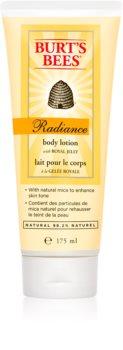 Burt's Bees Radiance lait corporel hydratant pour peaux normales