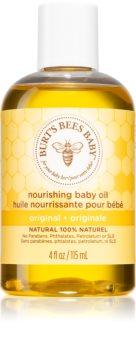 Burt's Bees Baby Bee óleo de banho e corpo para crianças com efeito nutritivo