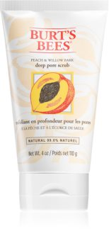Burt's Bees Peach & Willow Bark Deep Cleansing Peeling