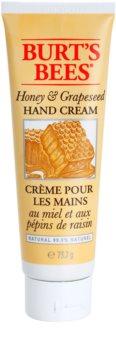 Burt's Bees Honey & Grapeseed crème mains pour peaux sèches et gercées