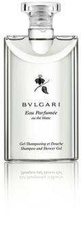 Bvlgari Eau Parfumée au Thé Blanc sprchový gel na tělo a vlasy unisex