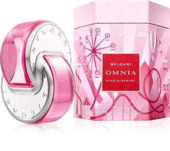 Bvlgari Omnia Pink Sapphire тоалетна вода за жени  лимитирана версия Omnialandia