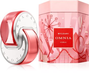 Bvlgari Omnia Coral Eau de Toilette για γυναίκες Περιορισμένη έκδοση Omnialandia