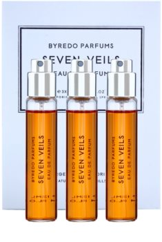 Byredo Seven Veils eau de parfum unisex 3 x 12 ml (3x recambio con difusor)