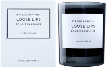 Byredo Loose Lips vela perfumado 240 g