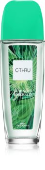 C-THRU Luminous Emerald Scented Body Spray for Women