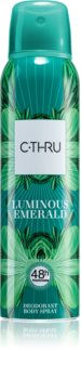 C-THRU Luminous Emerald Deodorant for Women