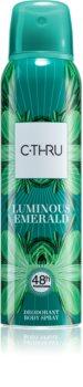 C-THRU Luminous Emerald Deodorant for Women