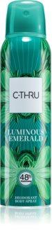 C-THRU Luminous Emerald Deodorantti Naisille