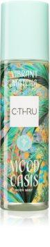 C-THRU Mood Oasis Vibrant Matcha δροσιστικό σπρεϊ σώματος για γυναίκες