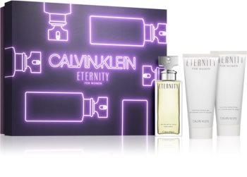 Calvin Klein Eternity coffret cadeau III. pour femme