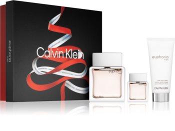 Calvin Klein Euphoria Men set cadou pentru bărbați