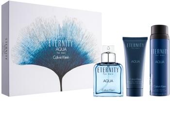 Calvin Klein Eternity Aqua for Men coffret IX.