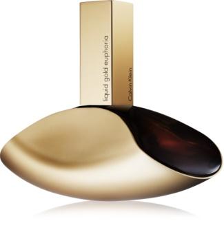 Calvin Klein Euphoria Liquid Gold eau de parfum para mulheres 100 ml