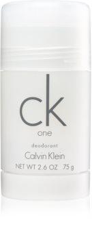 Calvin Klein CK One desodorante en barra unisex