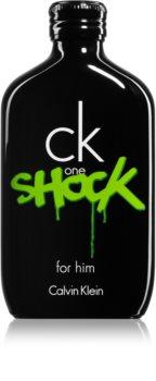 Calvin Klein CK One Shock eau de toilette pentru bărbați