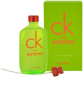 Calvin Klein CK One Summer 2012 toaletní voda unisex 100 ml