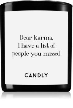 Candly & Co. Dear karma illatos gyertya