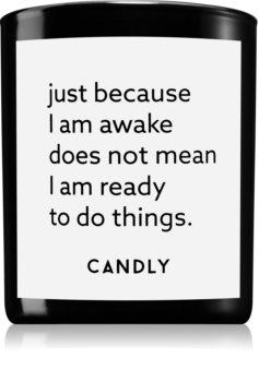 Candly & Co. Just because I am awake candela profumata