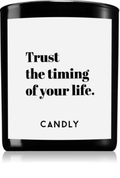Candly & Co. Trust the timing świeczka zapachowa