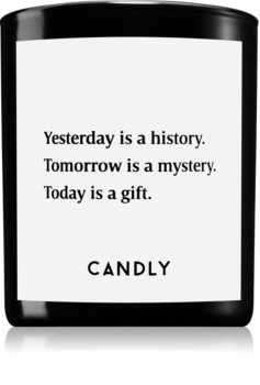 Candly & Co. Yesterday is a history dišeča sveča