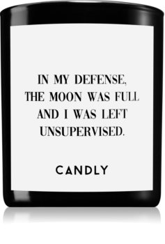 Candly & Co. In my defense scented candle