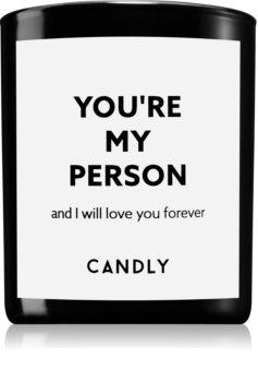 Candly & Co. You're my person illatos gyertya