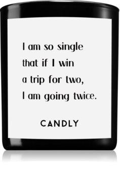 Candly & Co. I am so single vonná sviečka