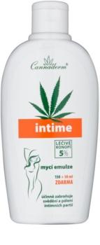 Cannaderm Intime emulze pro intimní hygienu