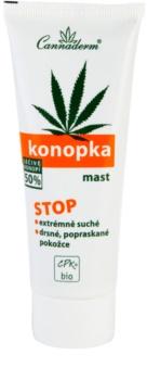 Cannaderm Konopka pomada  para pele muito seca