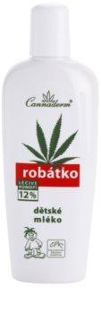 Cannaderm Robatko loción corporal para niños