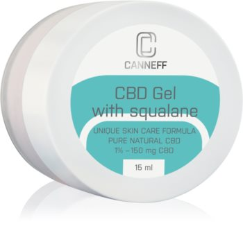 Canneff Balance CBD Gel regenerierendes Gel Für irritierte Haut