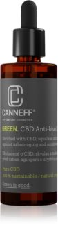 Canneff Green CBD Anti-Blue Light Serum olejové sérum pro regeneraci pleti