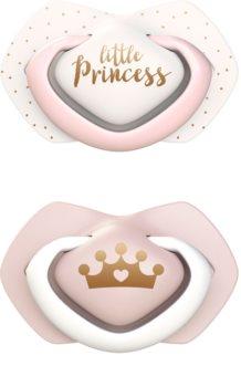 Canpol babies Royal Baby A 0-6 m Schnuller Pink