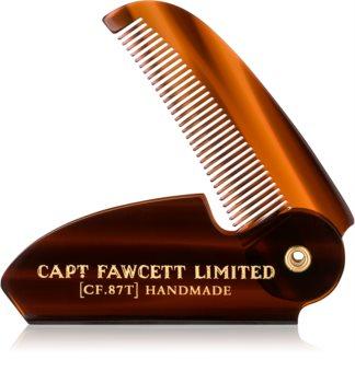 Captain Fawcett Accessories összecsukható bajuszfésű
