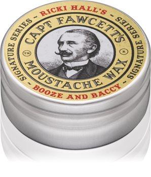 Captain Fawcett Ricki Hall´s cire pour moustache