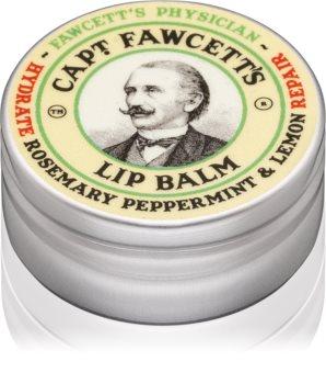 Captain Fawcett Fawcett's Physician baume à lèvres pour homme