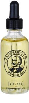 Captain Fawcett Beard Oil olio da barba