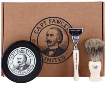 Captain Fawcett Shaving coffret I. para homens