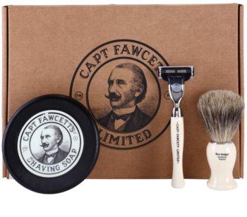 Captain Fawcett Shaving set de cosmetice I. pentru bărbați