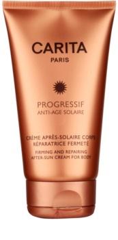 Carita Progressif Anti-Age Solaire pomirjajoča krema po sončenju z učvrstitvenim učinkom
