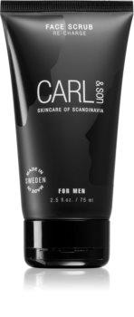 Carl & Son Face Scrub čisticí peeling pro muže
