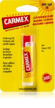 Carmex Classic vlažilni balzam za ustnice v paličici SPF 15