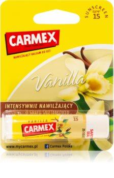 Carmex Vanilla balsam nawilżający do ust w sztyfcie SPF 15