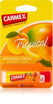 Carmex Tropical feuchtigkeitsspendender Balsam-Stick für die Lippen