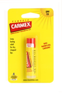 Carmex Classic bálsamo hidratante para lábios em stick SPF 15